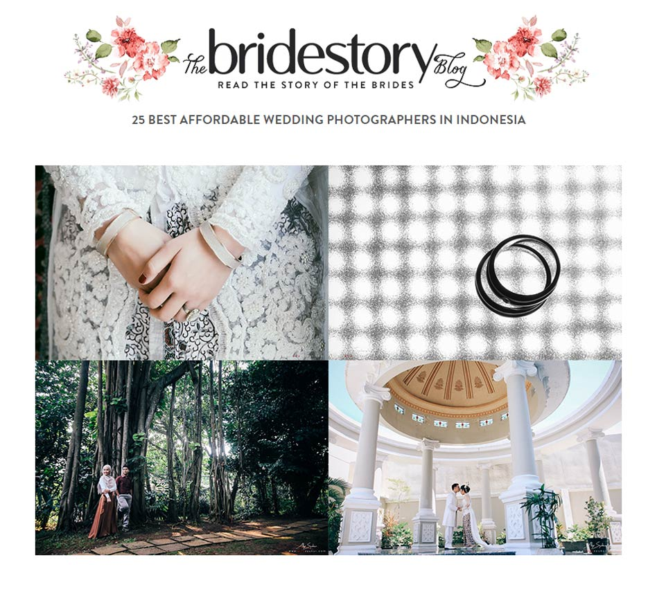 25 Best Affordable Wedding Photographers in Indonesia