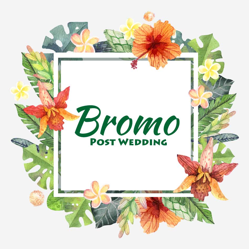 Bromo Post Wedding